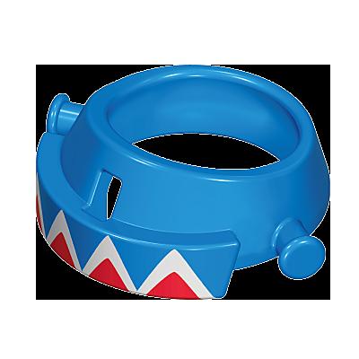 30630643_sparepart/Base bleue du grand chapeau à plumes