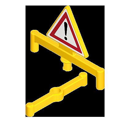 30633170_sparepart/Triangle de signalisation/support