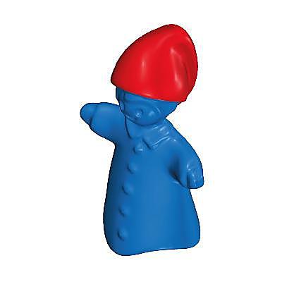 30633832_sparepart/Marionnette bleue bonnet rouge