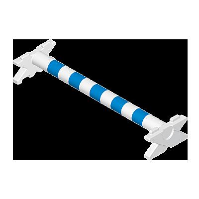 30634642_sparepart/Obstacle d'équitation (blanc bleu)