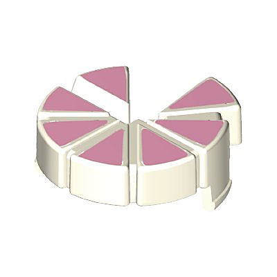 30639194_sparepart/CAKE,  CUT IN PIECES PINK/WHITE