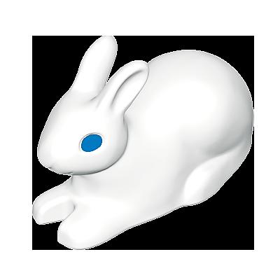 30640875_sparepart/Lièvre blanc couché