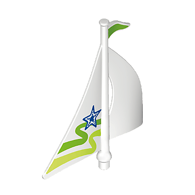 30641103_sparepart/SAIL FOR TOY SAILBOAT - WHITE