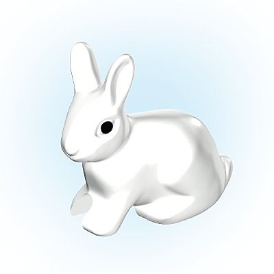 30646493_sparepart/Lièvre blanc assis