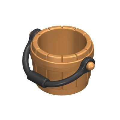 30650220_sparepart/BUCKET:WOODEN ASS. LT.BRN