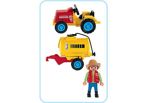 3066-A Kindertraktor detail image 2