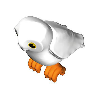 30665950_sparepart/OWL:BODY:CR.WHT WINGS:CR.WHT CLAWS:RD.OR