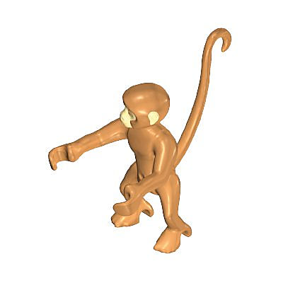 30675530_sparepart/SPIDER MONKEY LIGHT BROWN