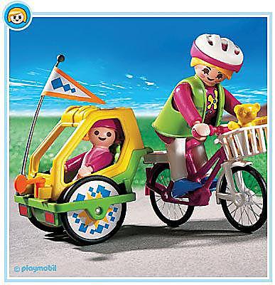 3068-A Fahrrad / Kinderanhänger detail image 1
