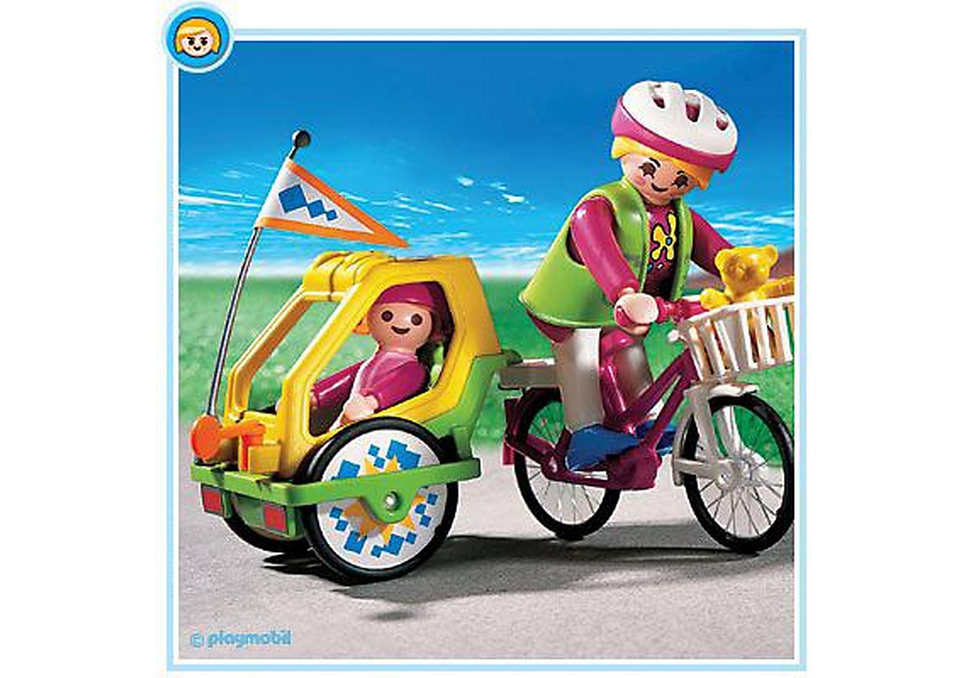 3068-A Fahrrad / Kinderanhänger zoom image1