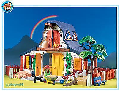 3072-A Bauernhof klein detail image 1