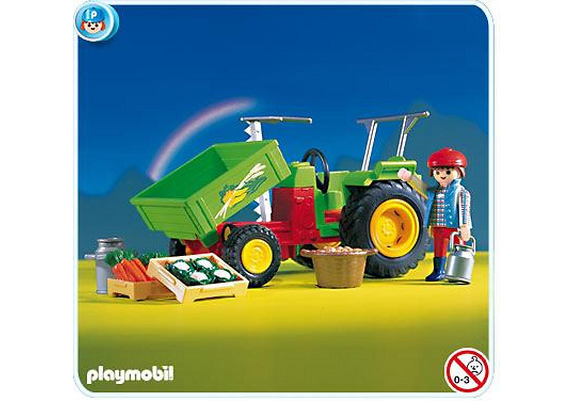 3074-A Traktor mit Ladefläche zoom image1