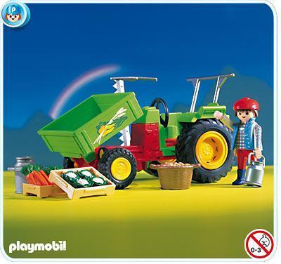 Traktor mit ladefl che 3074 a playmobil deutschland for Jugendzimmer playmobil