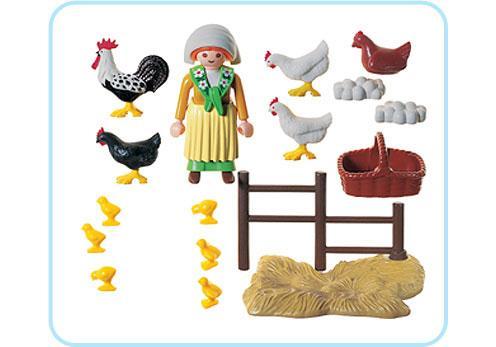 http://media.playmobil.com/i/playmobil/3076-A_product_box_back/Bäuerin / Hühnerschar