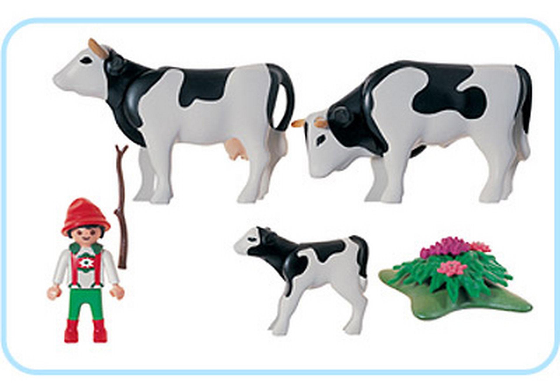 3077-A Vacher/famille de vaches zoom image2
