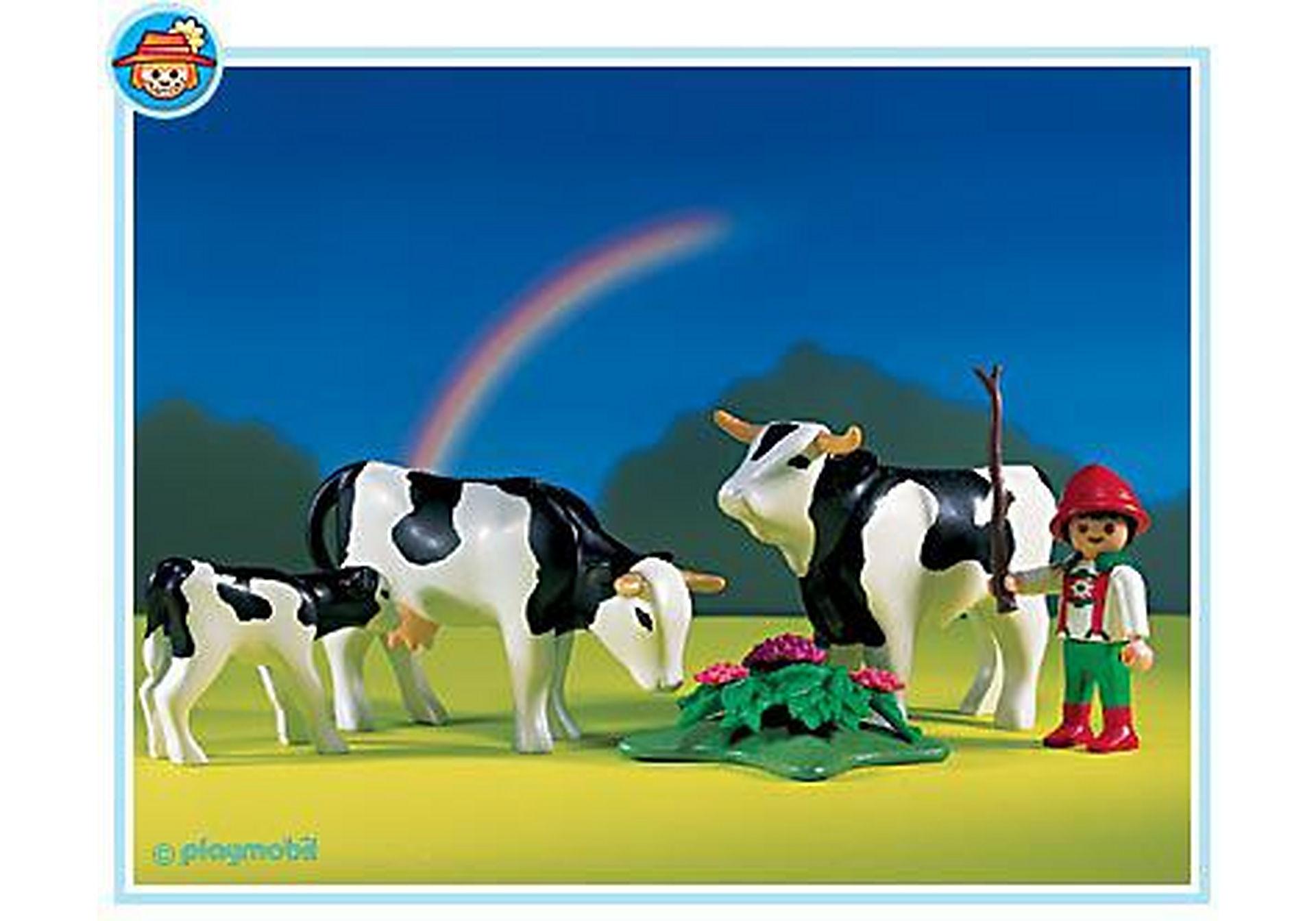 3077-A Vacher/famille de vaches zoom image1