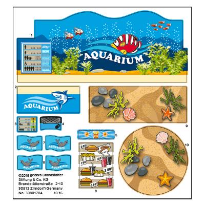 """30801784_sparepart/Etikett 9061 """"Aquarium Shop"""""""