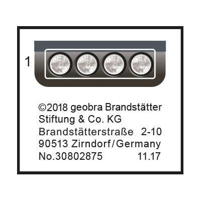 """30802875_sparepart/Etikett 9432 """"Forschermobil mit Stegosau"""
