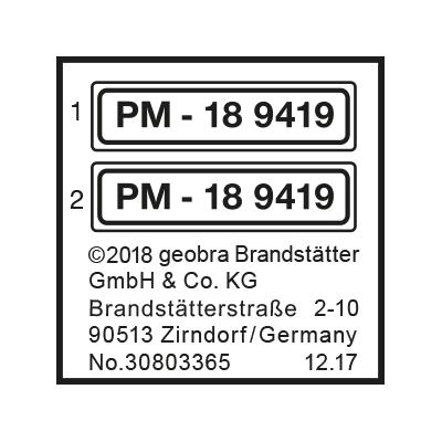 """30803365_sparepart/Etikett 9419 """"Schulbus"""""""