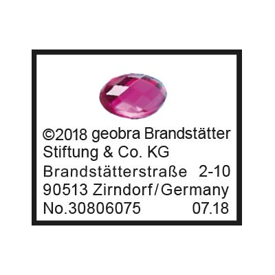 """30806075_sparepart/Etikett Strass-Steine 9469 """"Funkelnder K"""