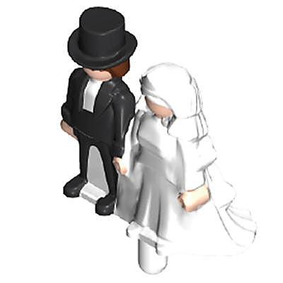 30806342_sparepart/Mini couple de mariés