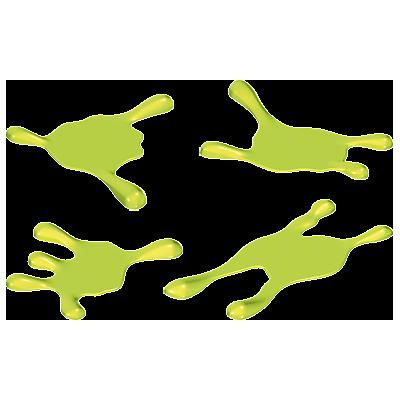 30806714_sparepart/Slimer Puddles (4 pcs) green
