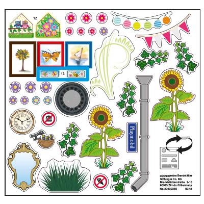 """30809365_sparepart/Etikett 70016 """"Mein Blumenladen"""" (Etiket"""
