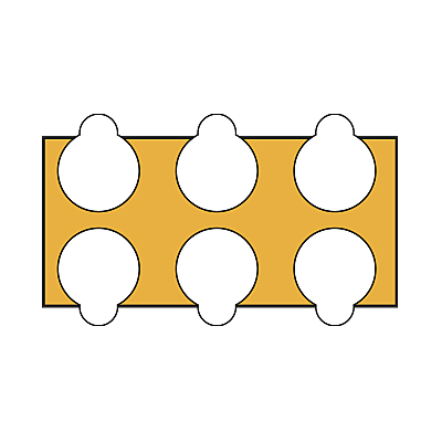 30811173_sparepart/Klebepunkte D15 (1Blatt=1St.)