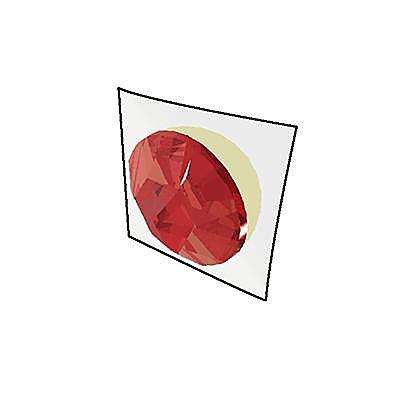 30816742_sparepart/Centre de bouclier (rouge)