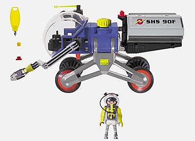 3082-A Astronaute/navette spatiale detail image 2