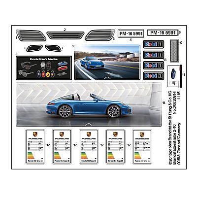 30826914_sparepart/Etikett 5991 Porsche Targa
