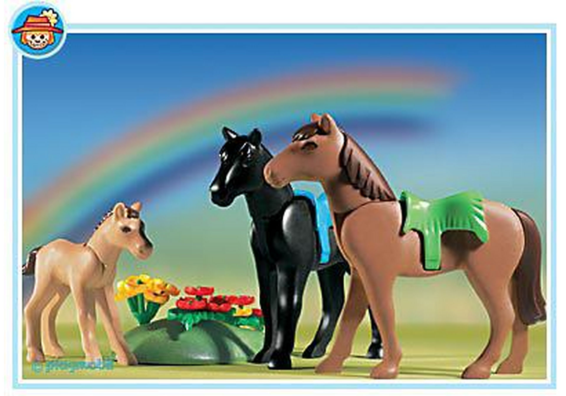 http://media.playmobil.com/i/playmobil/3114-B_product_detail/2 Pferde mit Fohlen