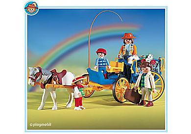 3117-A Pferdekutsche