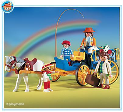 Famille attelage 3117 a playmobil france - Playmobil kutsche ...