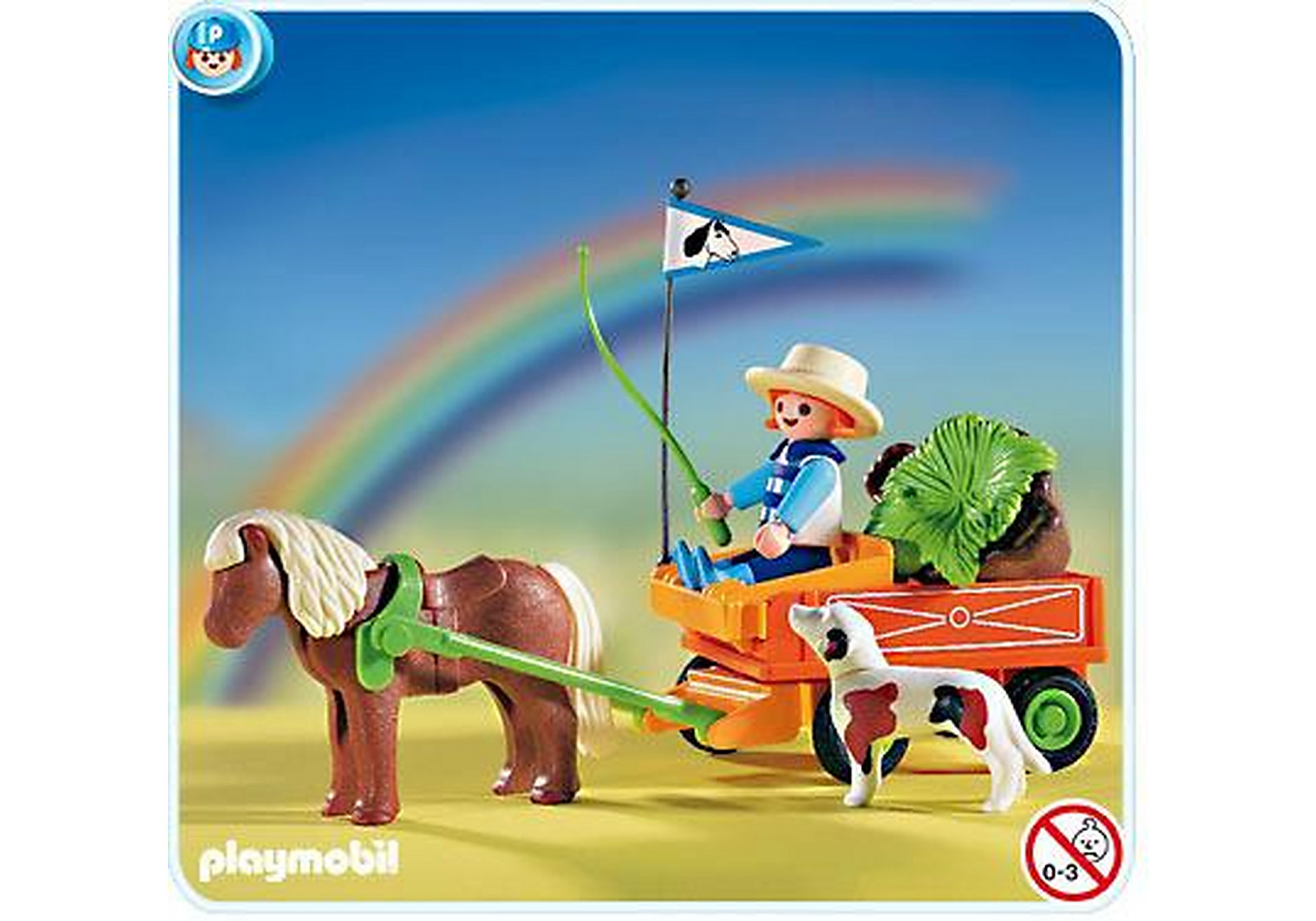 3118-B Kinder-Ponywagen zoom image1