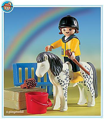 3119-B Enfant/poney detail image 1