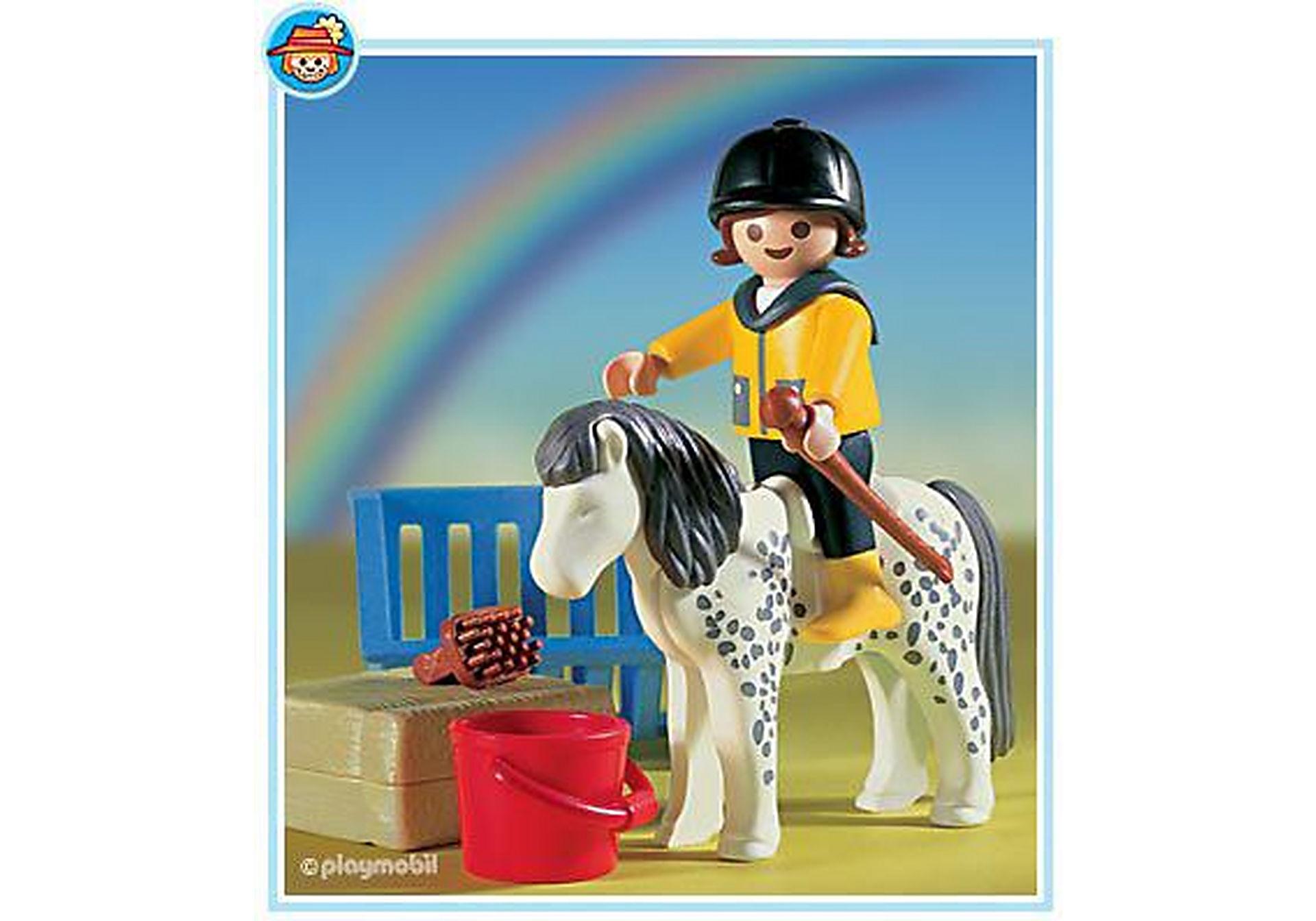 3119-B Enfant/poney zoom image1