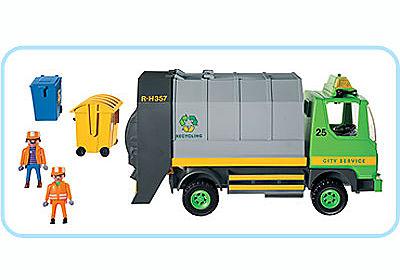 3121-B Eboueurs/Camion ordures ménagères detail image 2