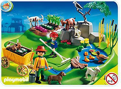 3124-B Superset Bauernhof detail image 1