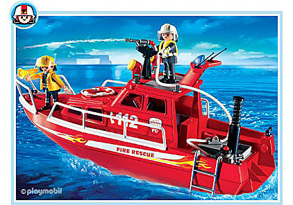 3128-B Feuerlöschboot mit Pumpe detail image 1