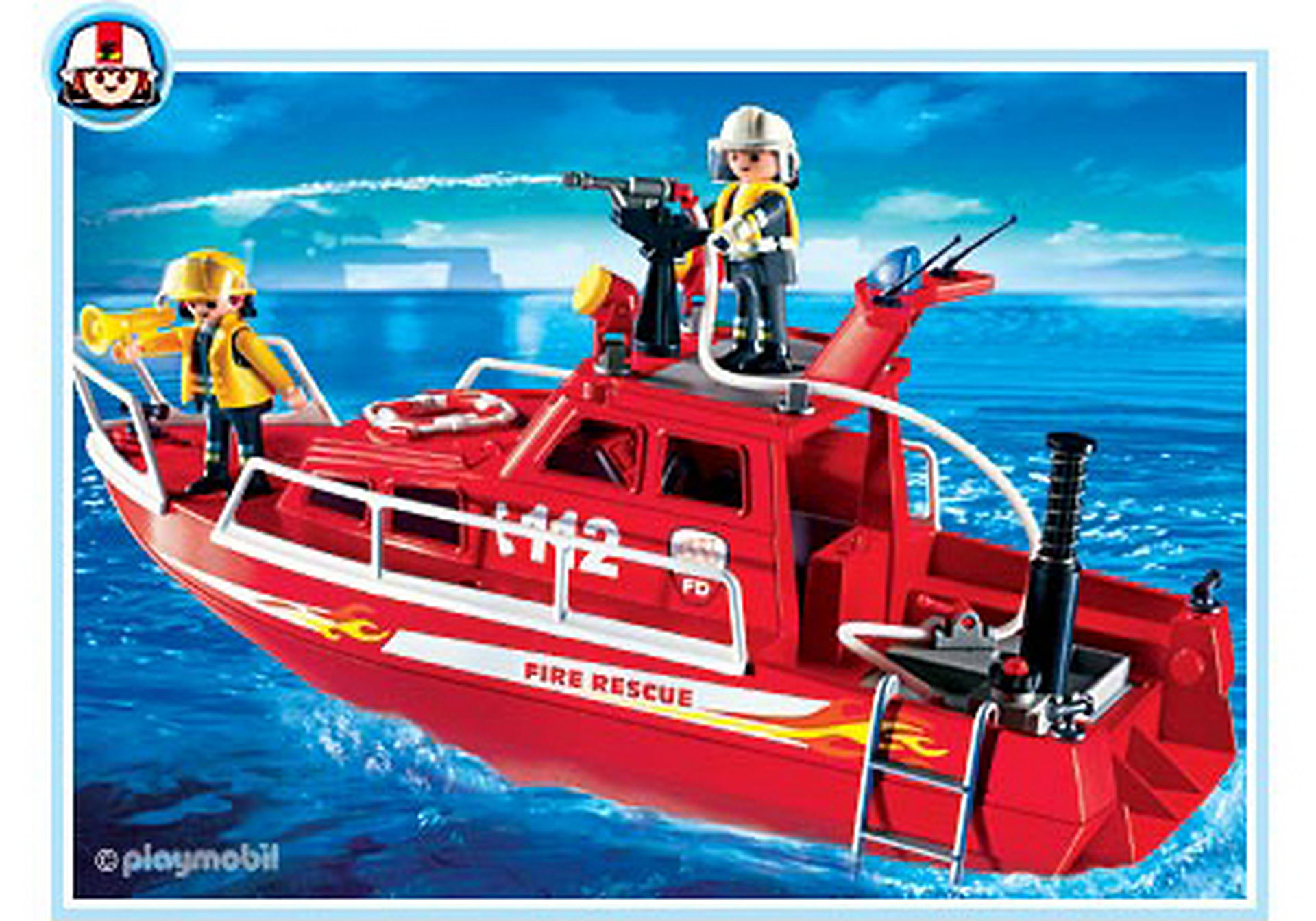 3128-B Feuerlöschboot mit Pumpe zoom image1