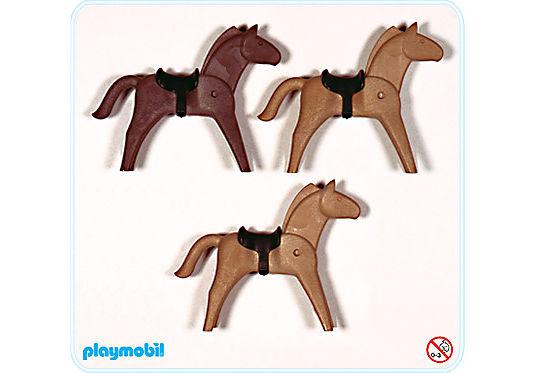 3132-A Pferde für Indianer und Ritter detail image 1