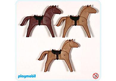 3132-A Pferde für Indianer und Ritter