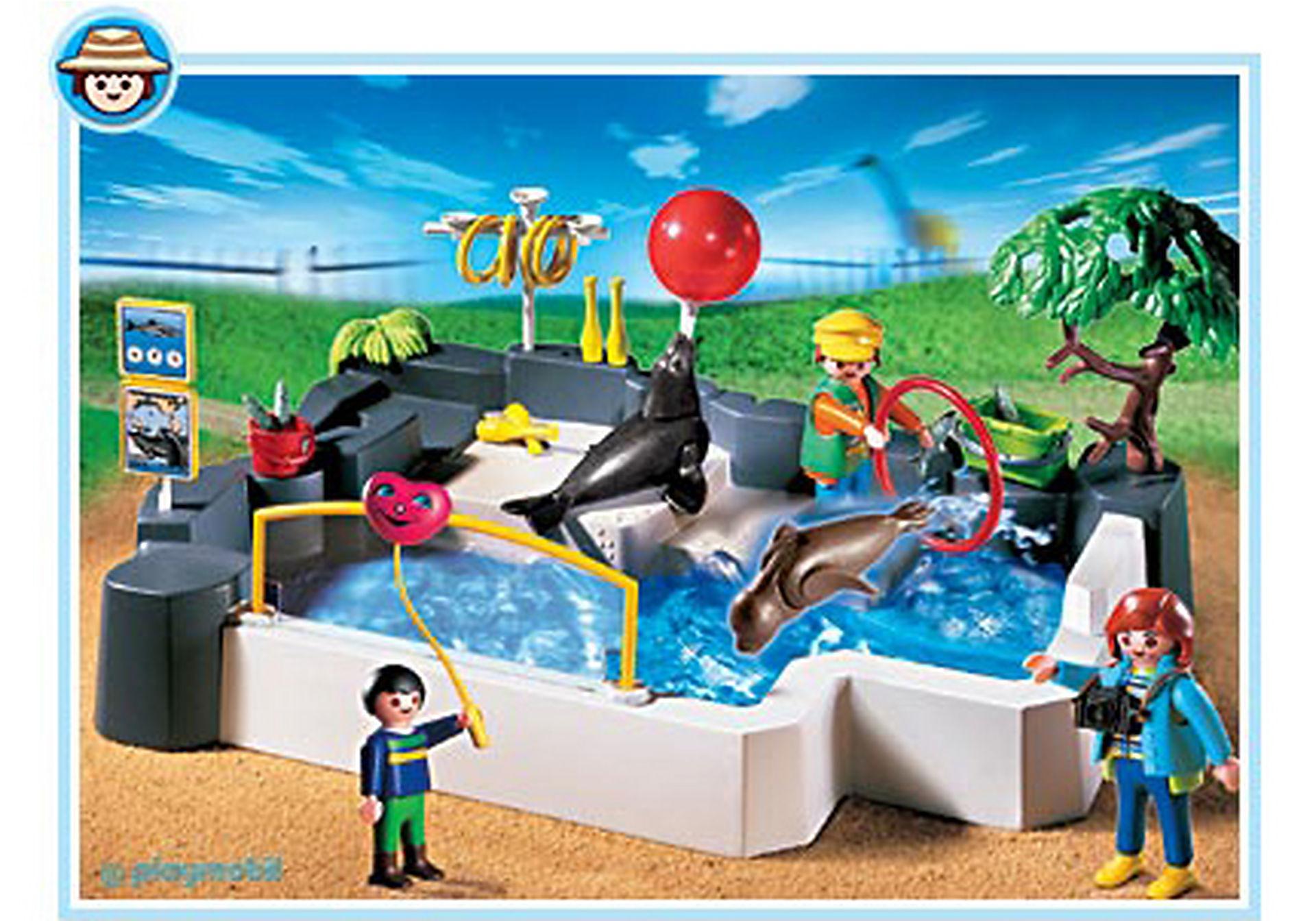 3135-B Zoo SuperSet Seehundbecken zoom image1