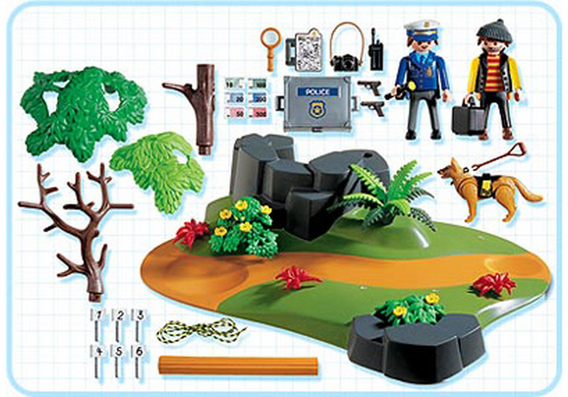 Polizei superset spurensicherung 3136 a playmobil for Jugendzimmer playmobil