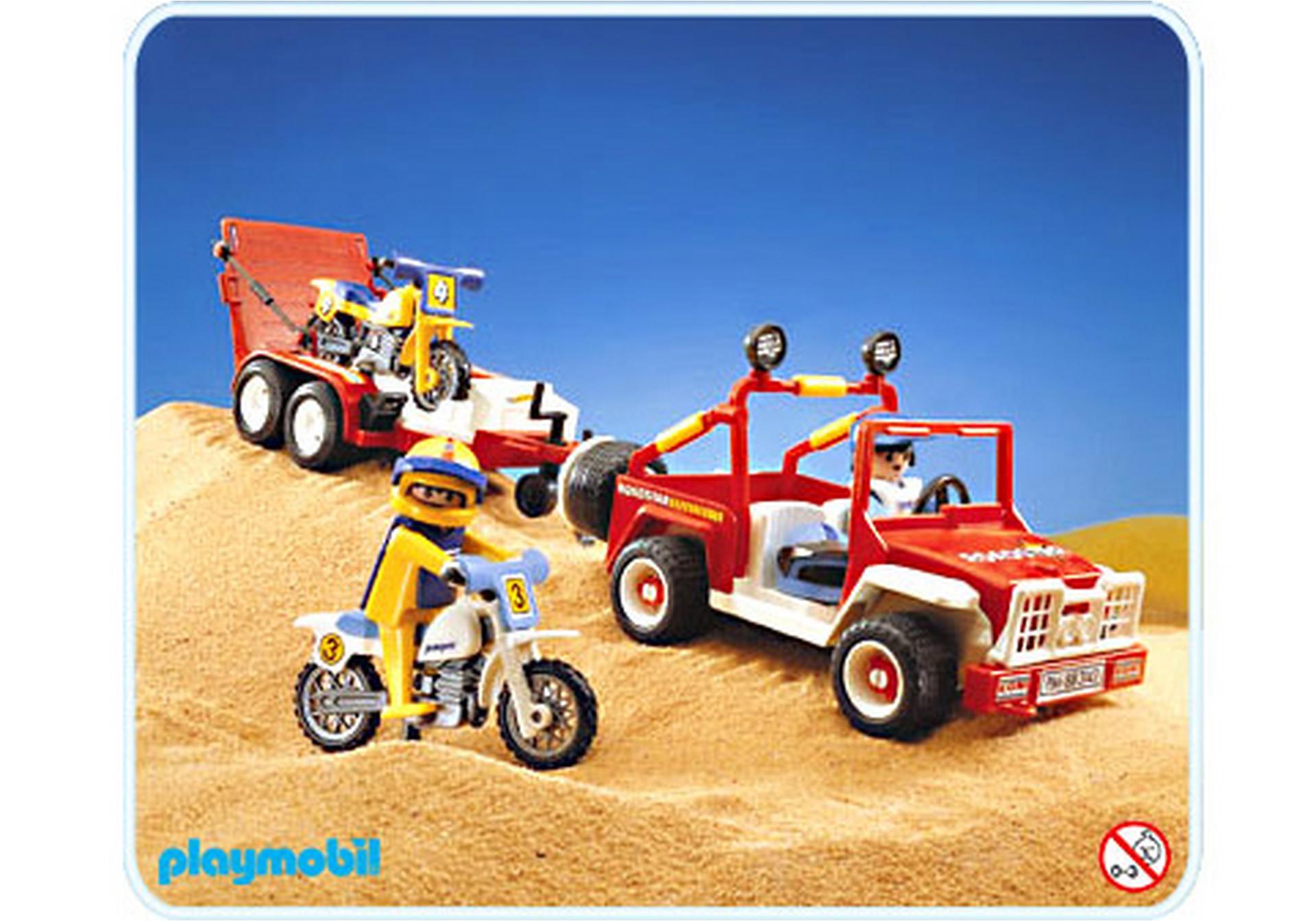 Gel ndewagen motocross 3143 a playmobil schweiz for Jugendzimmer playmobil
