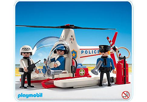 3144-A Hélicoptère de police detail image 1