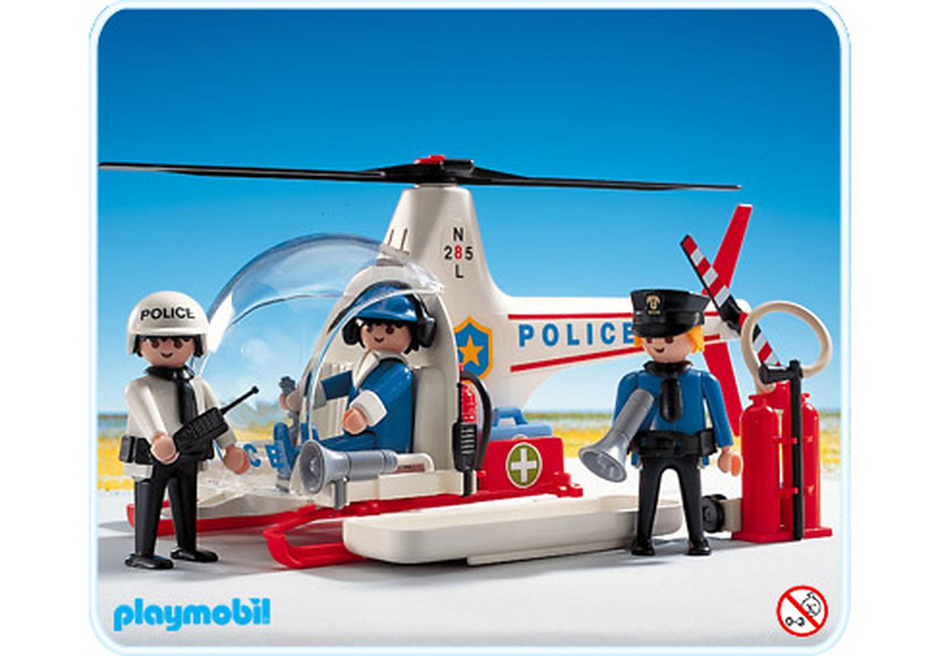 3144-A Hélicoptère de police zoom image1