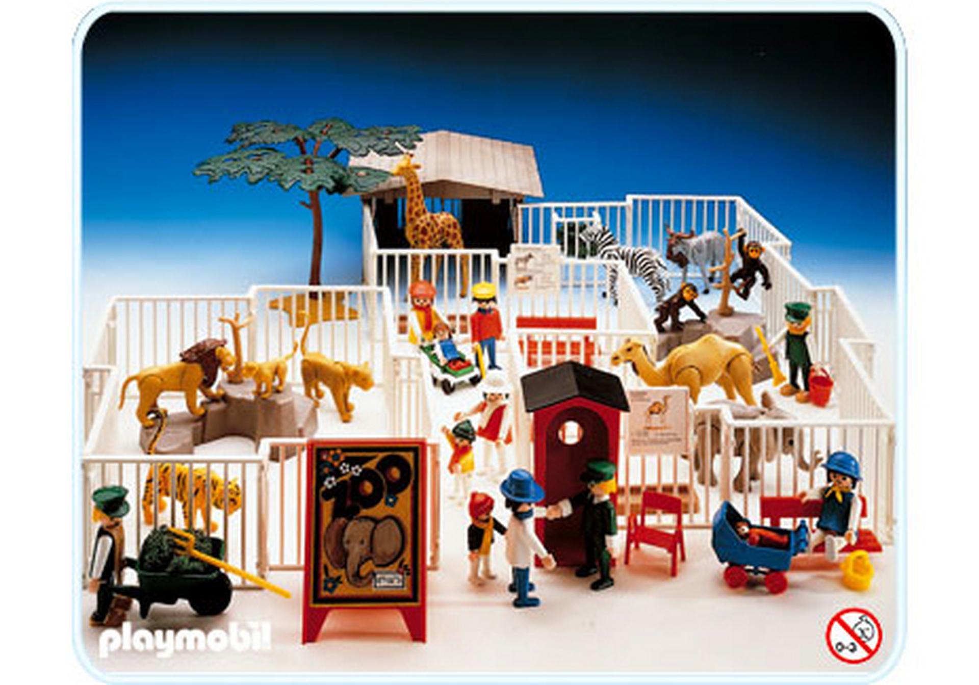 zoo 3145 a playmobil schweiz. Black Bedroom Furniture Sets. Home Design Ideas