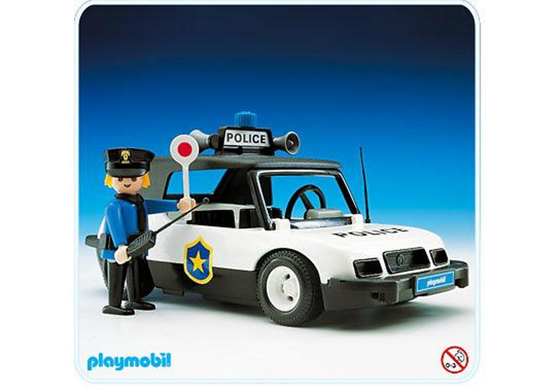 voiture de police 3149 a playmobil france. Black Bedroom Furniture Sets. Home Design Ideas